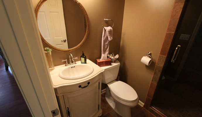 Make the most of your small bathroom with the right remodeling.
