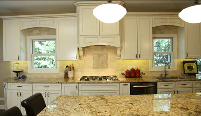 Adding white can really open up a space during kitchen remodeling